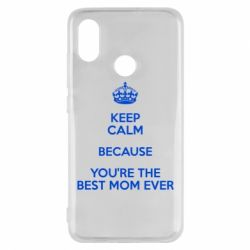 Чехол для Xiaomi Mi8 KEEP CALM because you're the best mom ever