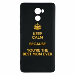 Чехол для Xiaomi Redmi 4 KEEP CALM because you're the best mom ever - FatLine