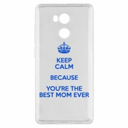 Чехол для Xiaomi Redmi 4 Pro/Prime KEEP CALM because you're the best mom ever - FatLine