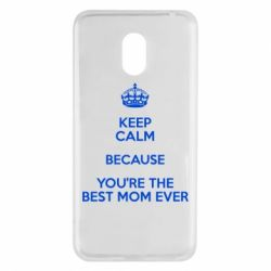 Чехол для Meizu M6 KEEP CALM because you're the best mom ever - FatLine