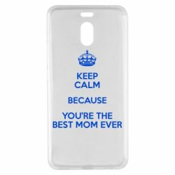 Чехол для Meizu M6 Note KEEP CALM because you're the best mom ever - FatLine