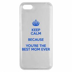 Чехол для Huawei Y5 2018 KEEP CALM because you're the best mom ever - FatLine