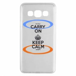 Чехол для Samsung A3 2015 KEEP CALM teleport - FatLine