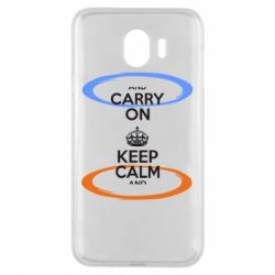 Чехол для Samsung J4 KEEP CALM teleport - FatLine