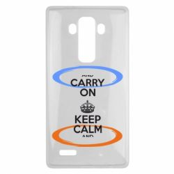 Чехол для LG G4 KEEP CALM teleport - FatLine