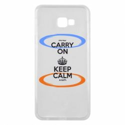 Чехол для Samsung J4 Plus 2018 KEEP CALM teleport - FatLine