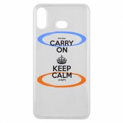 Чехол для Samsung A6s KEEP CALM teleport - FatLine
