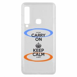 Чехол для Samsung A9 2018 KEEP CALM teleport - FatLine