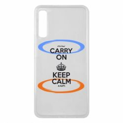 Чехол для Samsung A7 2018 KEEP CALM teleport - FatLine