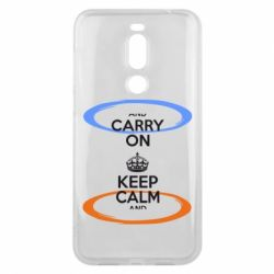 Чехол для Meizu X8 KEEP CALM teleport - FatLine