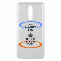 Чехол для Nokia 8 KEEP CALM teleport - FatLine