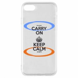 Чехол для iPhone 7 KEEP CALM teleport - FatLine
