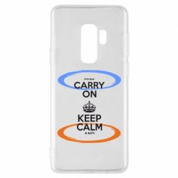 Чехол для Samsung S9+ KEEP CALM teleport - FatLine