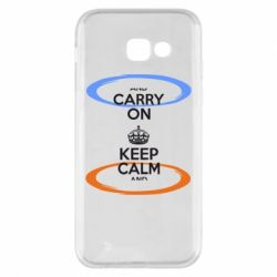 Чехол для Samsung A5 2017 KEEP CALM teleport - FatLine