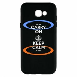 Чехол для Samsung A7 2017 KEEP CALM teleport - FatLine