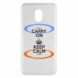 Чехол для Meizu M6 KEEP CALM teleport - FatLine