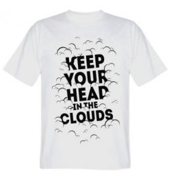 Футболка Keep your head in the clouds