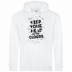 Мужская толстовка Keep your head in the clouds