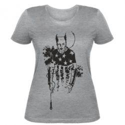 Женская футболка Keith Charles Flint