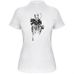 Женская футболка поло Keith Charles Flint