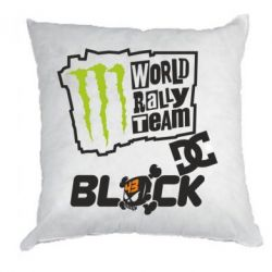 Подушка Ken Block Monster Energy
