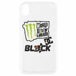 Чехол для iPhone XR Ken Block Monster Energy