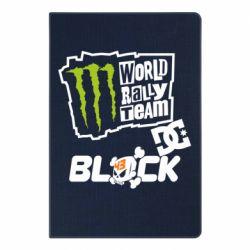 Блокнот А5 Ken Block Monster Energy