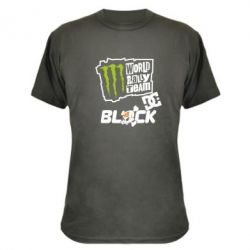 Камуфляжна футболка Ken Block Monster Energy