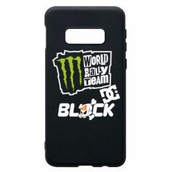 Чехол для Samsung S10e Ken Block Monster Energy
