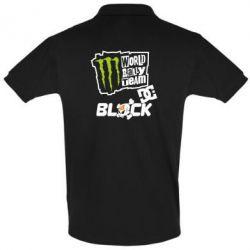 Футболка Поло Ken Block Monster Energy - FatLine