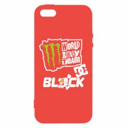 Чохол для iphone 5/5S/SE Ken Block Monster Energy