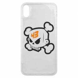 Чехол для iPhone Xs Max Ken Block Skull