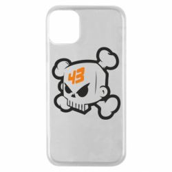 Чехол для iPhone 11 Pro Ken Block Skull