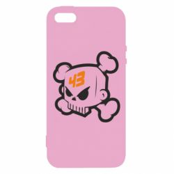 Чохол для iphone 5/5S/SE Ken Block Skull