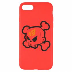 Чохол для iPhone 7 Ken Block Skull