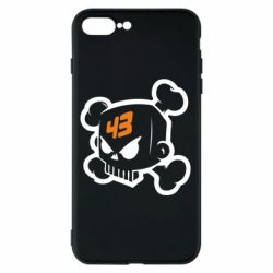 Чехол для iPhone 8 Plus Ken Block Skull