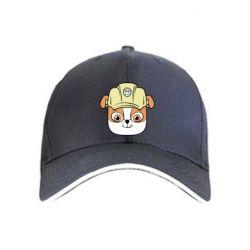 Кепка Dog in helmet