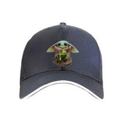 Кепка Grogu and Kermit