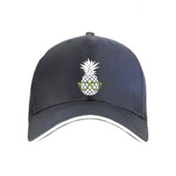 Кепка Pineapple with glasses