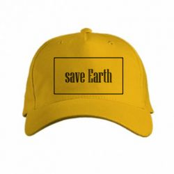 Кепка Save Earth