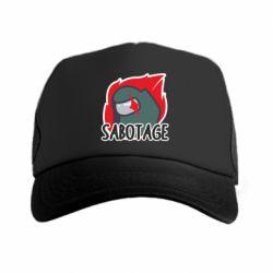 Кепка-тракер Among Us Sabotage