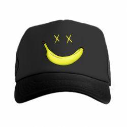 Кепка-тракер Banana smile