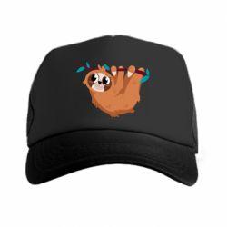 Кепка-тракер Cute sloth