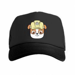 Кепка-тракер Dog in helmet