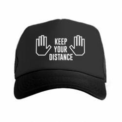 Кепка-тракер Keep your distance