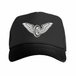 Кепка-тракер Колесо та крила