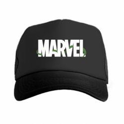 Кепка-тракер Marvel logo and vine
