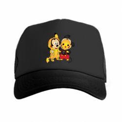 Кепка-тракер Mickey and Pikachu