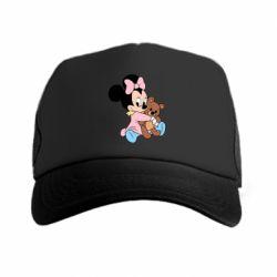 Кепка-тракер Minnie And Bear