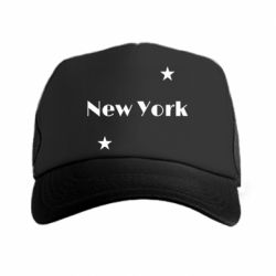 Кепка-тракер New York and stars